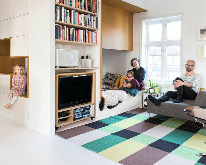 Oppdatert Arkitekttegnede og spesialtilpassede små leiligheter i byen. (DN+) XI-54